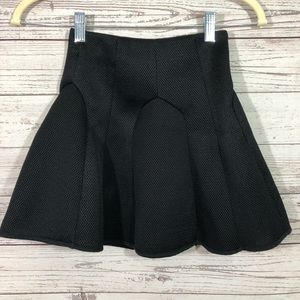 Zara Special T W&B Collection flare skirt